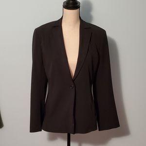 BCBGMAXAZRIA Classic Black One Button Blazer